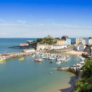 Tenby in the Sun