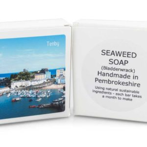 Luxury Natural Handmade Soap made with Seaweed (bladderwrack)