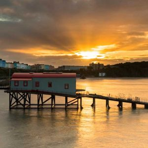 Tenby Summer Sunset