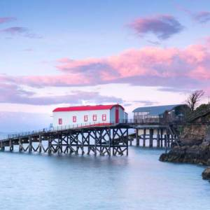 The Old Lifeboat Station, Tenby at Sunset