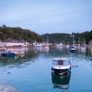 Twilight at Lower Town Fishguard