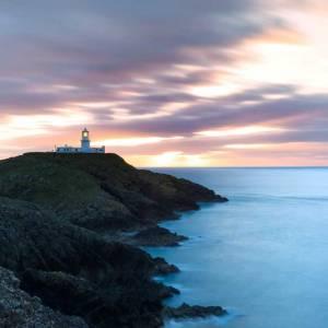 Strumble Head Lighthouse Sunset