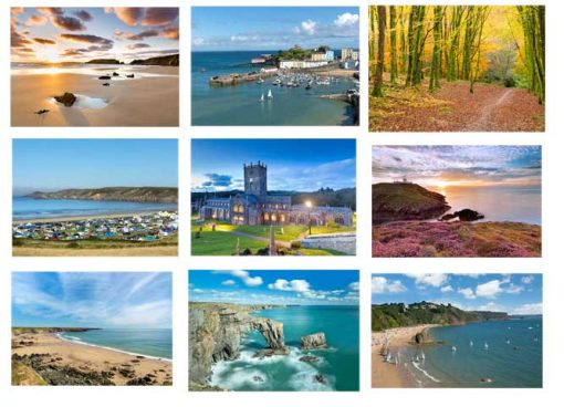 A Sample of images of Pembrokeshire