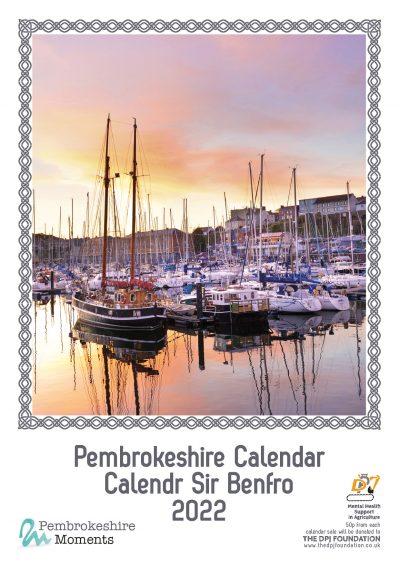 2022 Pembrokeshire Calendar featuring 12 images of Pembrokeshire