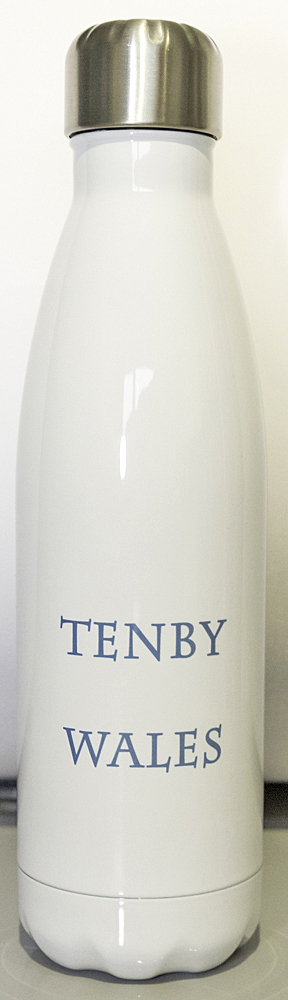 Tenby Wales in capitals on bottle reverse