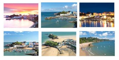 Various images of Tenby that will be sent out in a selection of 10