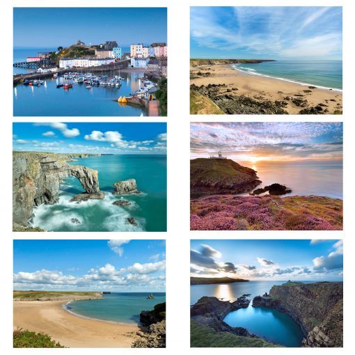 A variety of sites for Pembrokeshire Photography Workshops in the north and south of the county