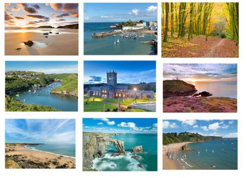 Pembrokeshire Photography Workshops county views