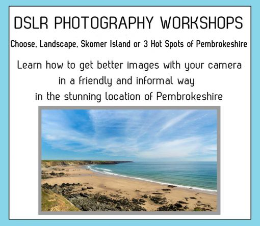 Pembrokeshire Photography Workshops - 3 choices