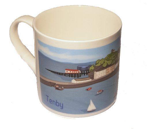 reverse of mug
