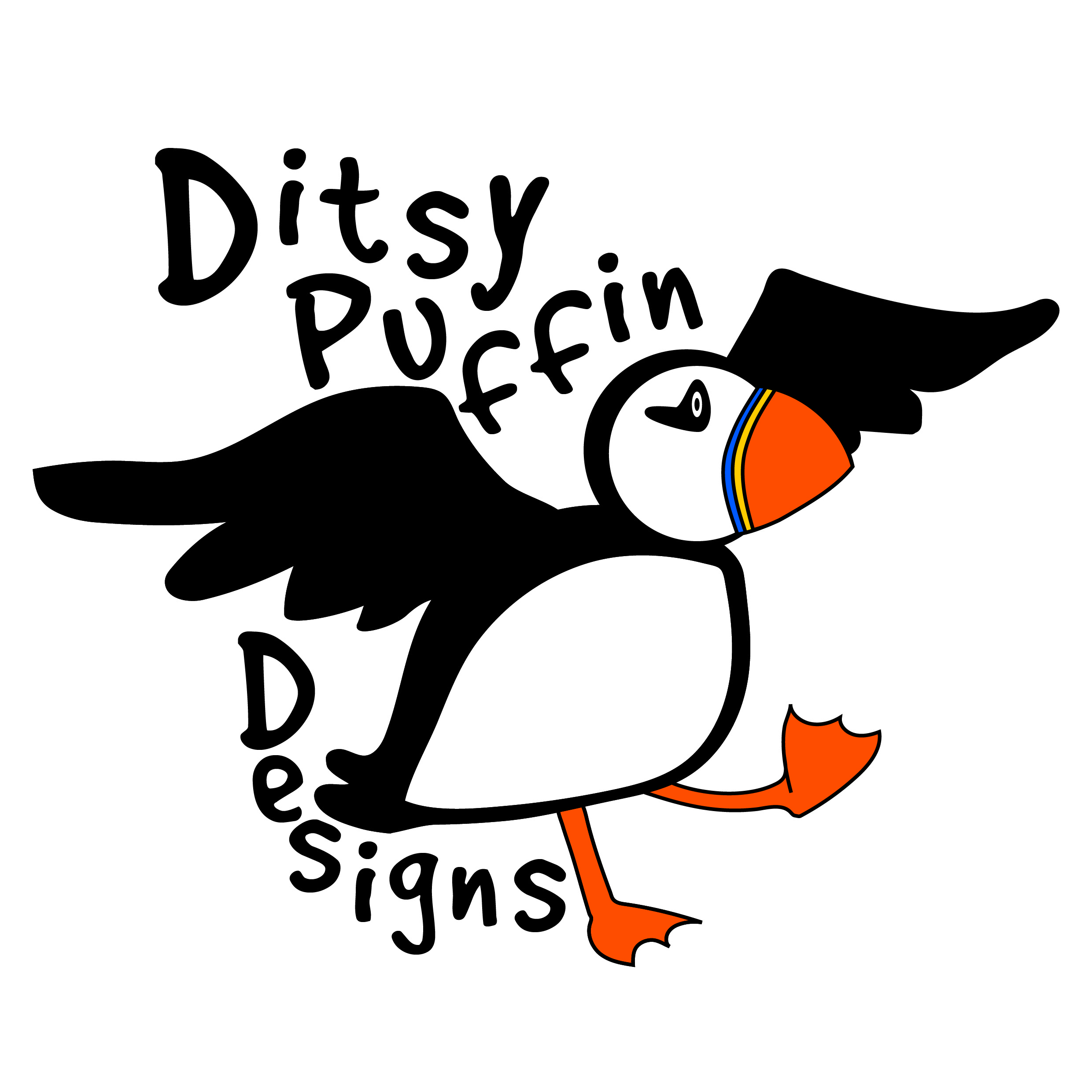 ditsy puffin designs selling quirky funny welsh designs
