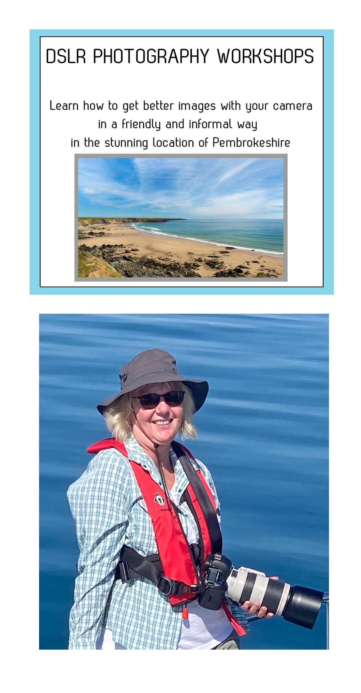 Rachel Mullett of Pembrokeshire moments running landscape photography workshops in pembrokeshire